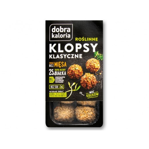 "Vegetarian meatballs ""Dobra kaloria"", 180 g"