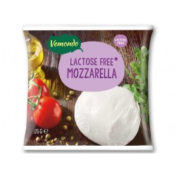 """Lactose free mozzarella """"Vemondo"""", 125 g"""