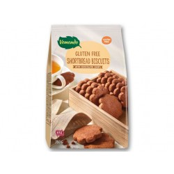 "Gluten free shortbread biscuits with chocolate chips ""Vemondo"", 250 g"