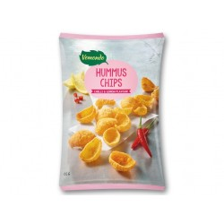 "Vegetarian hummus chips ""Vemondo"" chilli & lemon flavour, 135 g"