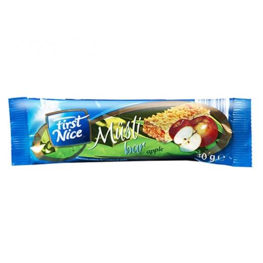 "Muesli bar ""First Nice"" Apple, 30 g"
