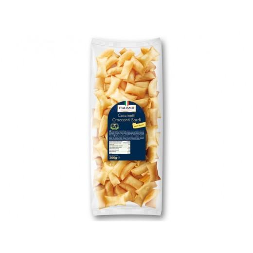 "Classic salty snack from Sardinia ""Italiamo"", 200 g"