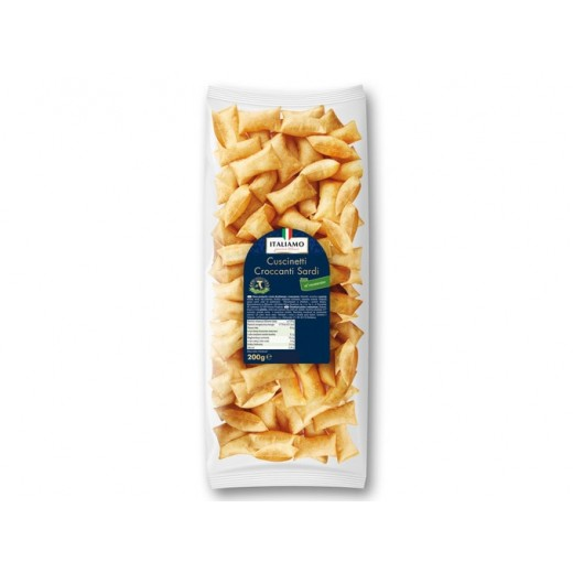 "Salty snack from Sardinia with rosemary ""Italiamo"", 200 g"