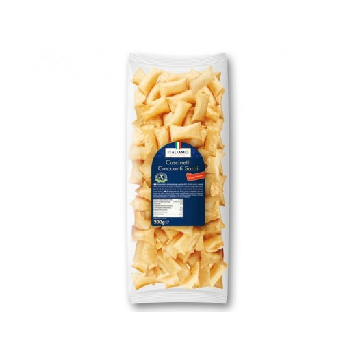 "Salty snack from Sardinia with chili pepper ""Italiamo"", 200 g"