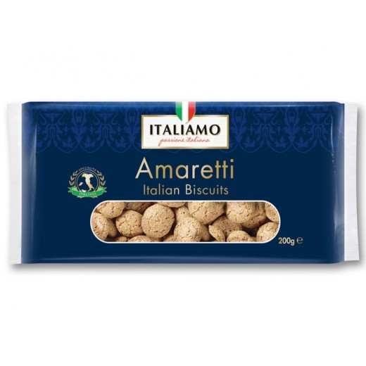 "Italian bittersweet biscuits ""Italiamo"" Amaretti, 200 g"