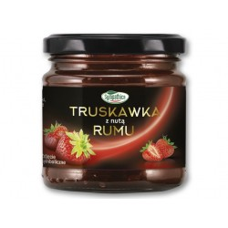 "Strawberry jam with a hint of rum ""Sympathica"", 220 g"
