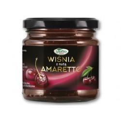 "Cherry jam with a hint of Amaretto ""Sympathica"", 220 g"
