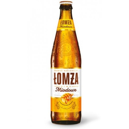 "Honey beer 5,7% ""Lomza"", 500 ml"