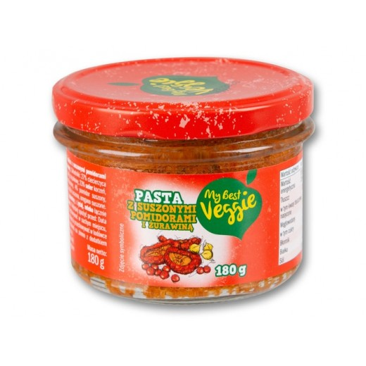 """Chickpeas pasta with dried tomatoes & cranberry """"My best veggie"""", 180 g"""