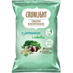 "Corn chips with kale & onion ""Crunlight"", 40 g"
