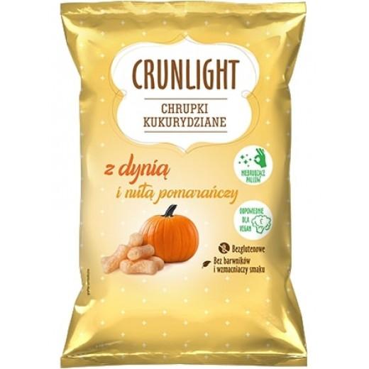 "Corn chips with pumpkin & hint of orange ""Crunlight"", 40 g"