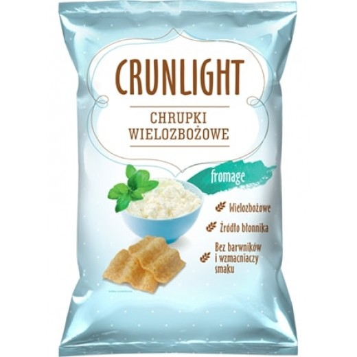 "Multigrain crisps with cheese ""Crunlight"", 70 g"