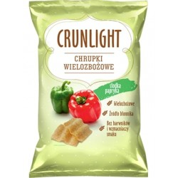 "Multigrain crisps with sweet pepper ""Crunlight"", 70 g"