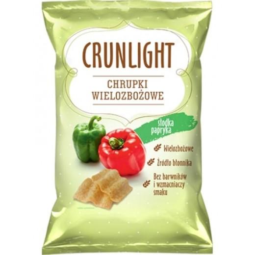 "Multigrain crisps with sweet pepper ""Crunlight"", 70 g"
