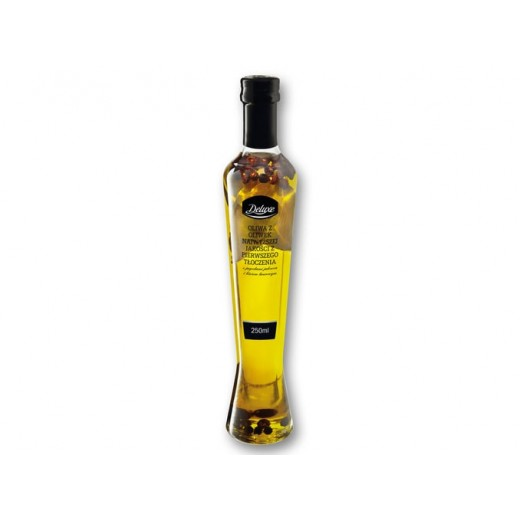 """Extra virgin olive oil with oregano & chili """"Deluxe"""", 250 ml"""