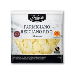 "Parmigiano Reggiano P.D.O shavings, matured for 22 months ""Deluxe"", 100 g"