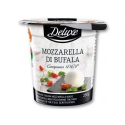 """Italian Mediterranean buffalo mozzarella cheese """"Deluxe"""", 250 g"""