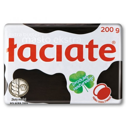 "Natural butter ""Laciate"", 200 g"