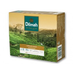 "Black tea ""Dilmah"" Ceylon Gold, 100 pcs"