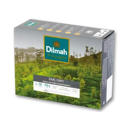 "Black tea ""Dilmah"" Earl Grey with bergamot, 100 pcs"