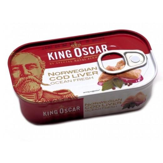 """Cod liver """"King Oscar"""", 121 g"""