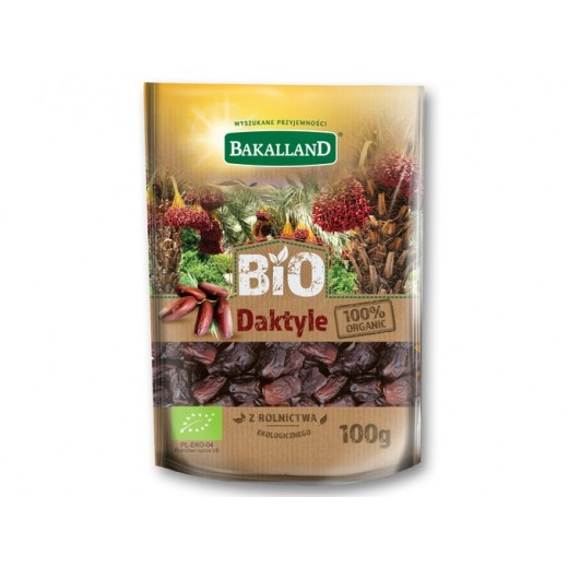 "Organic dried dates ""Bakalland"", 100 g"
