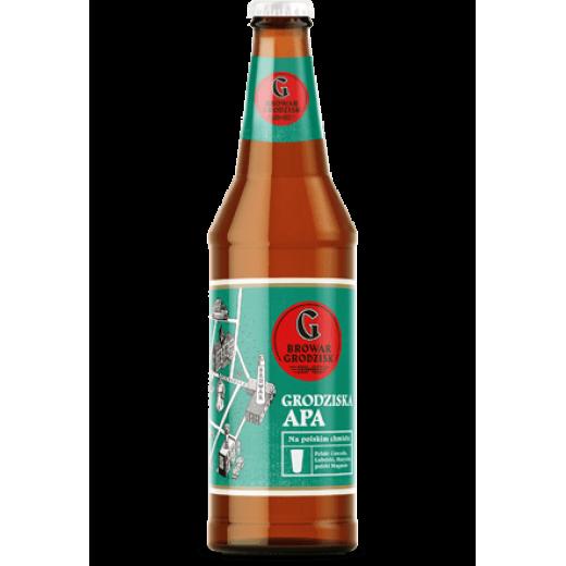 "American Pale Ale 5,2% ""Grodziska APA"", 500 ml"