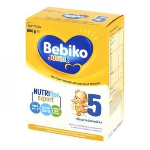 "Milk powder ""Bebiko Junior 5"" Nutriflor expert, 800 g"