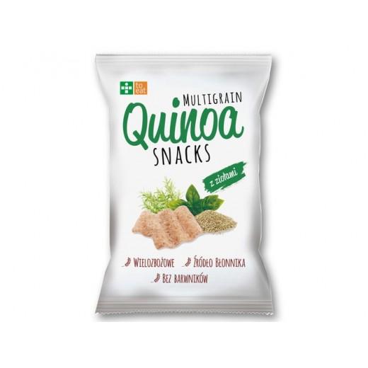 "Multigrain Quinoa crisps with herbs ""To Eat"", 70 g"