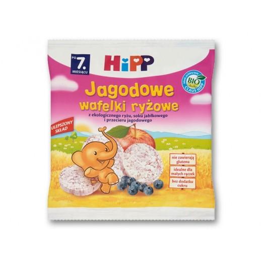 "BIO Organic Blueberry & Rice wafers ""Hipp"", 30 g"