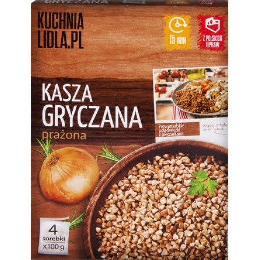 Roasted buckwheat, 400 g