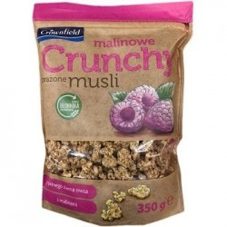 "Crunchy muesli with dried raspberry ""Crownfield"", 350 g"