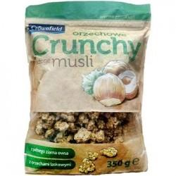 """Crunchy muesli with hazelnuts """"Crownfield"""", 350 g"""