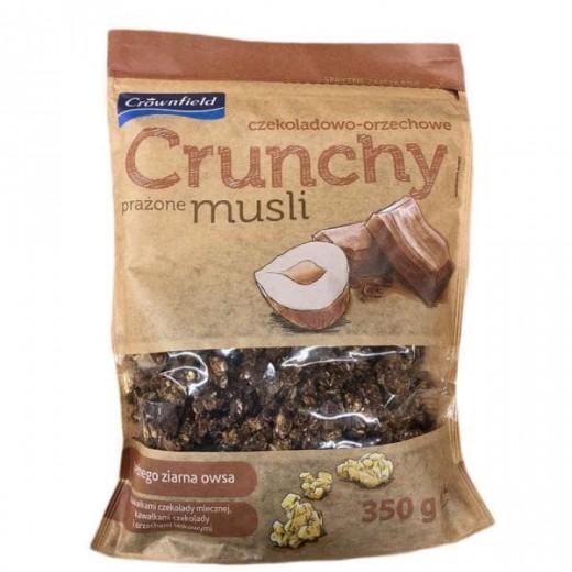"Crunchy muesli with hazelnuts and chocolate ""Crownfield"", 350 g"