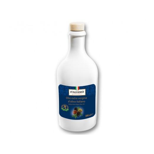 "Italian extra-virgin olive oil in a ceramic bottle ""Italiamo"", 500 ml"