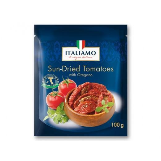 "Sun dried tomatoes with oregano ""Italiamo"", 100 g"