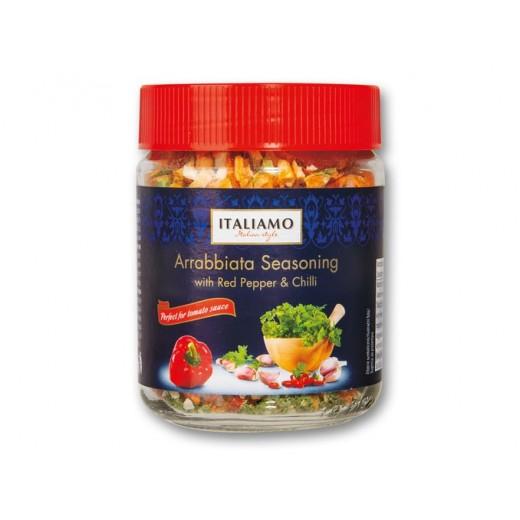 "Arrabbiata Italian seasoning with red pepper & chilli ""Italiamo"", 22 g"