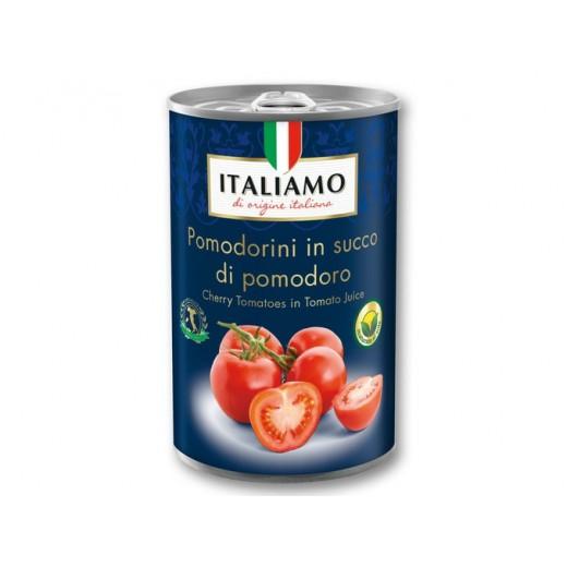 """Cherry tomatoes in tomato juice """"Italiamo"""", 425 ml"""