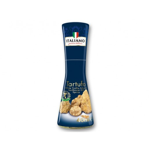 "White truffle infused sunflower oil spray ""Italiamo"", 40 ml"