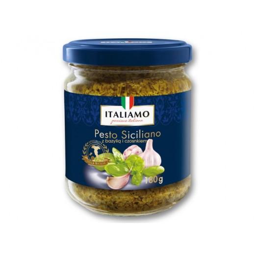 "Sicilian pesto sauce with Basil & Garlic ""Italiamo"", 180 g"