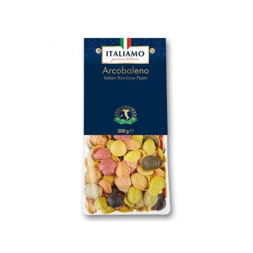 "Italian Rainbow pasta Arcobaleno ""Italiamo"", 500 g"