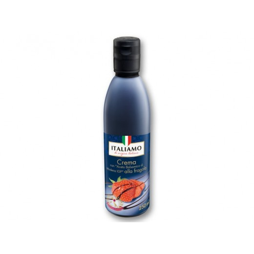 "Strawberry balsamic vinegar Modena IGP ""Italiamo"", 250 ml"