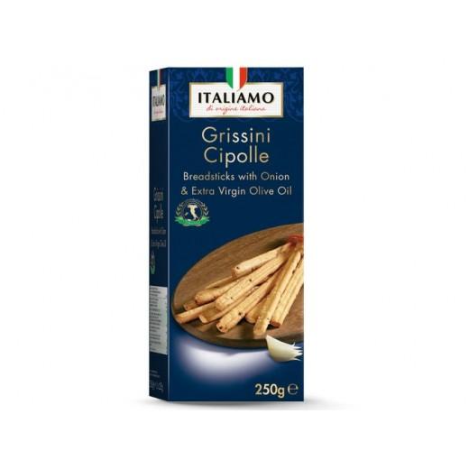 "Grissini Cipolle Breadsticks with onion & olive oil ""Italiamo"", 250 g"
