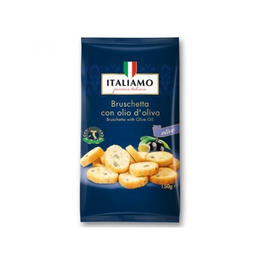 """Bruschetta with olive oil """"Italiamo"""", 150 g"""