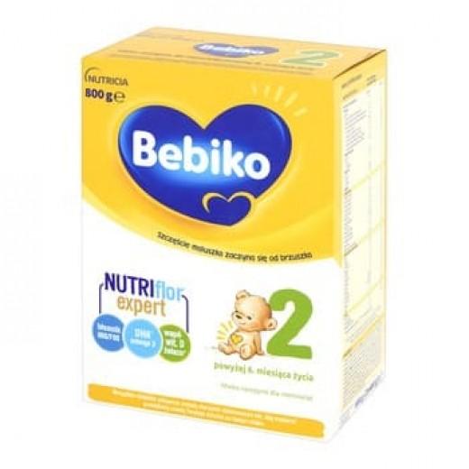 "Milk powder ""Bebiko 2"" Nutriflor expert, 800 g"