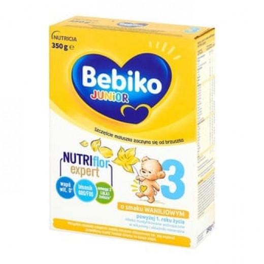 "Milk powder with vanilla ""Bebiko Junior 3"" Nutriflor expert, 350 g"